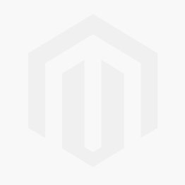 Pouffe Eneas Shabby Chic style antique white faux leather champagne buttons Crystal Sw